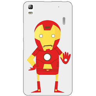 EYP Superheroes Iron Man Back Cover Case For Lenovo K3 Note