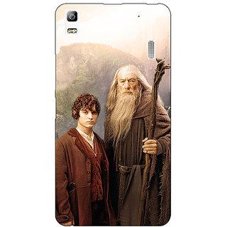 EYP LOTR Hobbit Gandalf Frodo Back Cover Case For Lenovo K3 Note