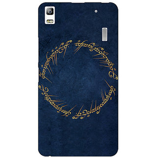 EYP LOTR Hobbit  Back Cover Case For Lenovo K3 Note