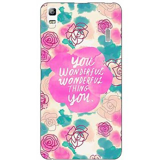 EYP Floral Pattern  Back Cover Case For Lenovo K3 Note