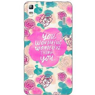 EYP Floral Pattern  Back Cover Case For Lenovo K3 Note
