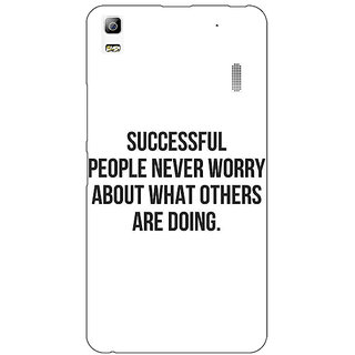 EYP Quotes Back Cover Case For Lenovo K3 Note