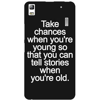 EYP Quote Back Cover Case For Lenovo K3 Note