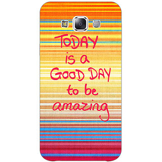 EYP Good Day Pattern Back Cover Case For Samsung Galaxy J3