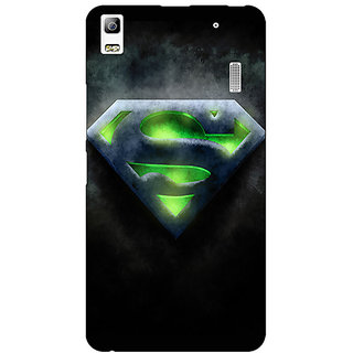 EYP Superheroes Superman Back Cover Case For Lenovo K3 Note