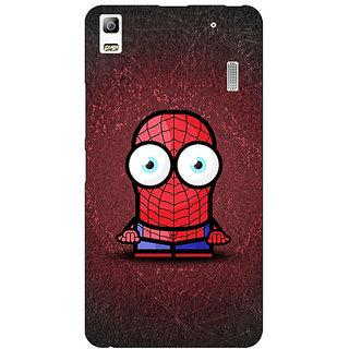 EYP Big Eyed Superheroes Spiderman Back Cover Case For Lenovo K3 Note