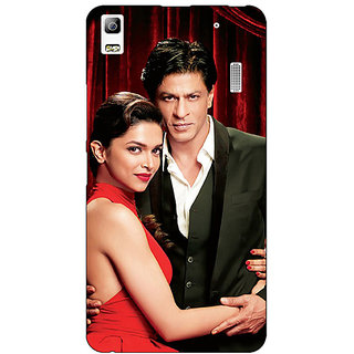 EYP Bollywood Superstar Deepika Padukone Shahrukh Khan Back Cover Case For Lenovo K3 Note