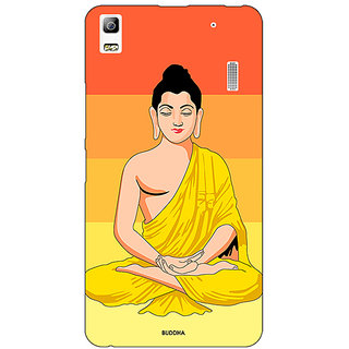 EYP Gautam Buddha Back Cover Case For Lenovo K3 Note