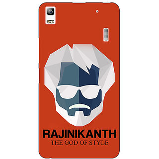 EYP Rajni Rajanikant Back Cover Case For Lenovo K3 Note