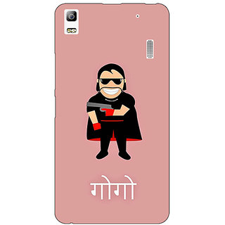 EYP Crime Master GOGO Back Cover Case For Lenovo K3 Note