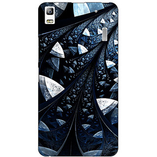 EYP Abstract Design Pattern Back Cover Case For Lenovo K3 Note