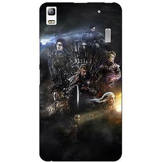 EYP Game Of Thrones GOT All Back Cover Case For Lenovo K3 Note