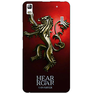 EYP Game Of Thrones GOT House Lannister Back Cover Case For Lenovo K3 Note