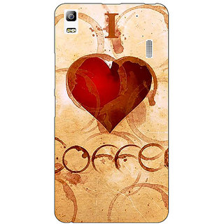 EYP Coffee Quote Back Cover Case For Lenovo K3 Note