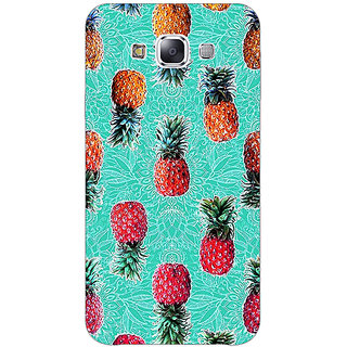 EYP Pineapple Pattern Back Cover Case For Samsung Galaxy J5