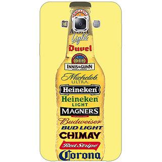 EYP Beer Bottle Back Cover Case For Samsung Galaxy J5