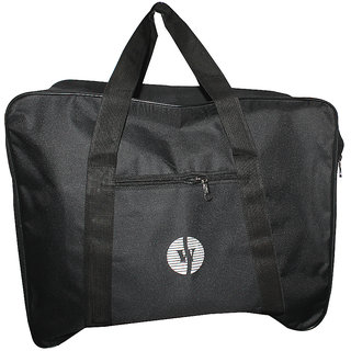 Paramsai Black Luggage Bag