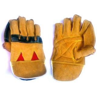 Heavy Duty Leather Wicket Keeping Gloves
