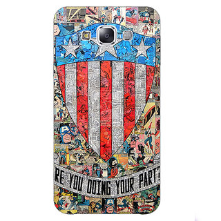 EYP Superheroes Captain America Back Cover Case For Samsung Galaxy On5