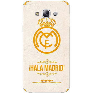 EYP Real Madrid Back Cover Case For Samsung Galaxy J7