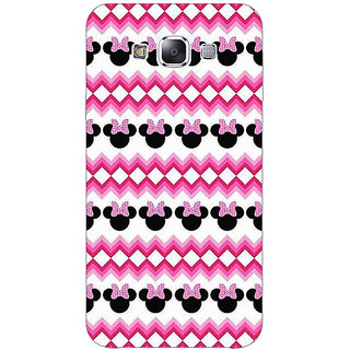 EYP Minnie Mouse Pattern Back Cover Case For Samsung Galaxy J7
