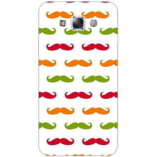 EYP Moustache Back Cover Case For Samsung Galaxy J7