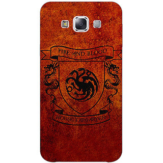 EYP Game Of Thrones GOT House Targaryen  Back Cover Case For Samsung Galaxy On5