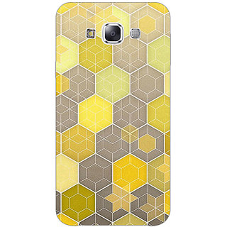 EYP Yellow Hexagons Pattern Back Cover Case For Samsung Galaxy On5