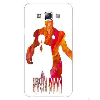 EYP Superheroes Iron Man Back Cover Case For Samsung Galaxy On7