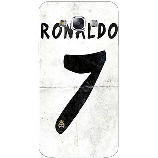 EYP Real Madrid Ronaldo Back Cover Case For Samsung Galaxy On5