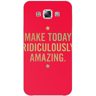 EYP Quotes Beautiful Back Cover Case For Samsung Galaxy On5