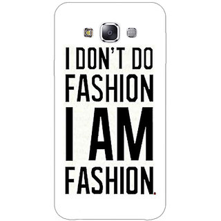 EYP Fashion Quote Back Cover Case For Samsung Galaxy On5
