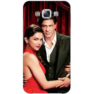 EYP Bollywood Superstar Deepika Padukone Shahrukh Khan Back Cover Case For Samsung Galaxy On7