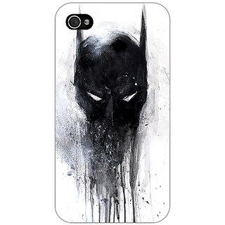 Enhance Your Phone Superheroes Batman Dark knight Back Cover Case For Apple iPhone 4 E10019