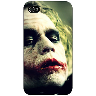 Enhance Your Phone Villain Joker Back Cover Case For Apple iPhone 4 E10036