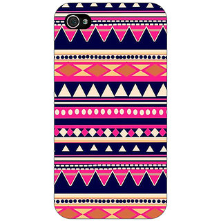 Enhance Your Phone Aztec Girly Tribal Back Cover Case For Apple iPhone 4 E10053