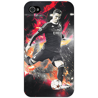 Enhance Your Phone Cristiano Ronaldo Portugal Back Cover Case For Apple iPhone 4 E10320