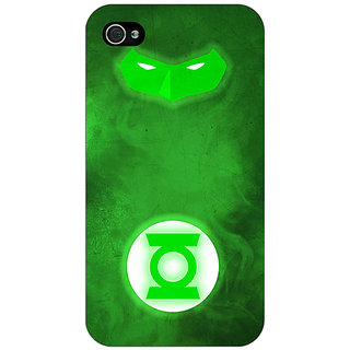 Enhance Your Phone Superheroes Green Lantern Back Cover Case For Apple iPhone 4 E10339