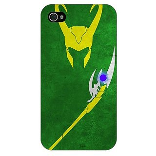 Enhance Your Phone Superheroes Loki Back Cover Case For Apple iPhone 4 E10341