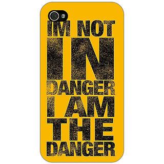 Enhance Your Phone Breaking Bad Heisenberg Back Cover Case For Apple iPhone 4 E10409