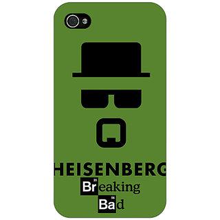 Enhance Your Phone Breaking Bad Heisenberg Back Cover Case For Apple iPhone 4 E10414