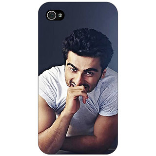 Enhance Your Phone Bollywood Superstar Arjun Kapoor Back Cover Case For Apple iPhone 4 E10901