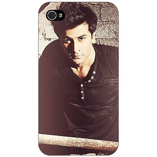 Enhance Your Phone Bollywood Superstar Ranbir Kapoor Back Cover Case For Apple iPhone 4 E10903