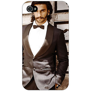 Enhance Your Phone Bollywood Superstar Ranveer Singh Back Cover Case For Apple iPhone 4 E10909