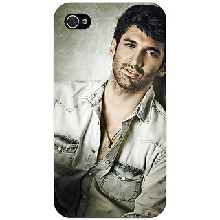Enhance Your Phone Bollywood Superstar Aditya Roy Kapoor Back Cover Case For Apple iPhone 4 E10924