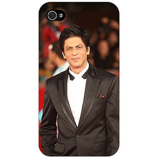 Enhance Your Phone Bollywood Superstar Shahrukh Khan Back Cover Case For Apple iPhone 4 E10960
