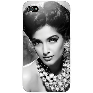 Enhance Your Phone Bollywood Superstar Sonam Kapoor Back Cover Case For Apple iPhone 4 E10971