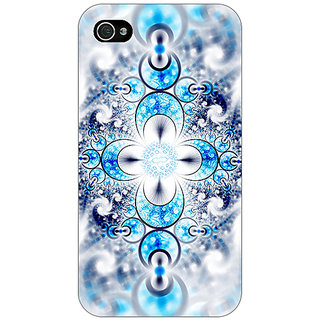 Enhance Your Phone Abstract Design Pattern Back Cover Case For Apple iPhone 4 E11511