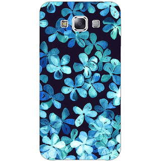EYP Night Blue Flowers Pattern Back Cover Case For Samsung Galaxy On7