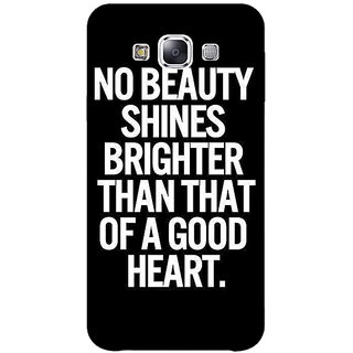 EYP Quote Back Cover Case For Samsung Galaxy On7